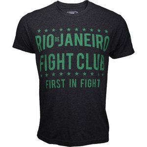 Bad Boy Bad Boy Rio FIGHT CLUB T Shirts Dark Grey Green