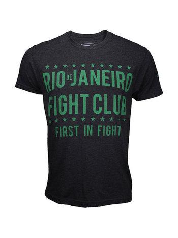 Bad Boy Bad Boy Rio Fight Club T-shirts Donkergrijs Groen