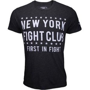 Bad Boy Bad Boy New York FIGHT CLUB T Shirt Dunkelgrau Weiß