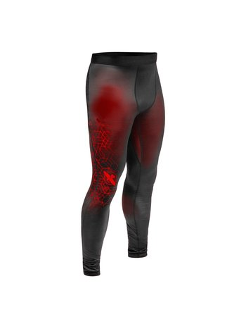 Hayabusa Hayabusa Geo Jiu Jitsu Spats Black Red BJJ Shop Europe