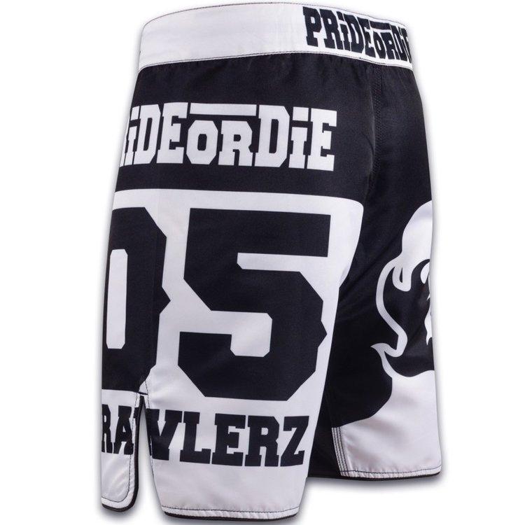 Pride or Die PRIDEorDIE MMA Fight Shorts BRAWLERZ