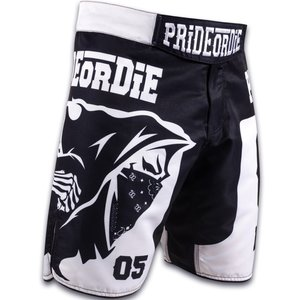 Pride or Die Pride or Die Fightshorts BRAWLERZ Kampfsport Hose