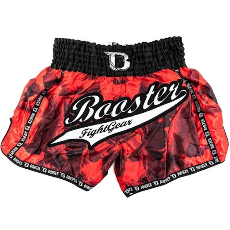 Booster Booster Muay Thai Shorts TBT GEO 2 Black Red