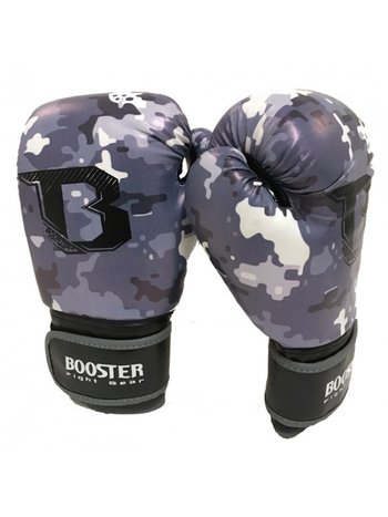 Booster Booster Boxing Gloves BG Youth Camo Grey