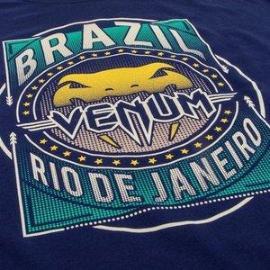 Venum Venum Carioca 4.0 BJJ T-shirt Marineblauw Venum Fightwear