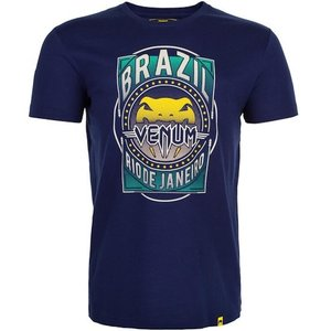 Venum Venum Carioca 4.0 BJJ T-Shirt Dunkelblaue Venum Fightwear