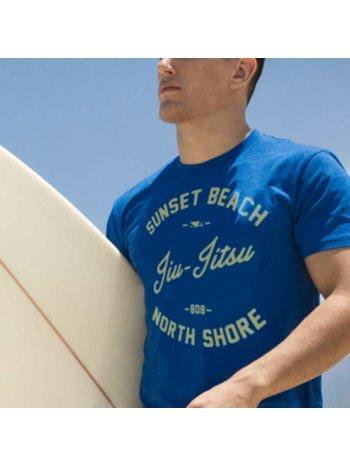 Bad Boy Bad Boy BJJ Shore Break T-Shirts Blau