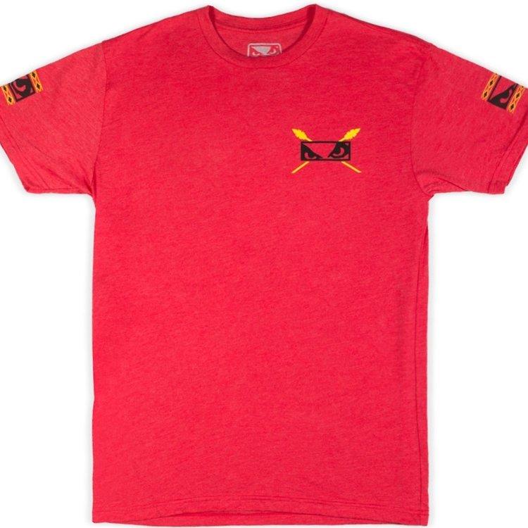 Bad Boy Bad Boy Aztec Warrior T Shirt Red