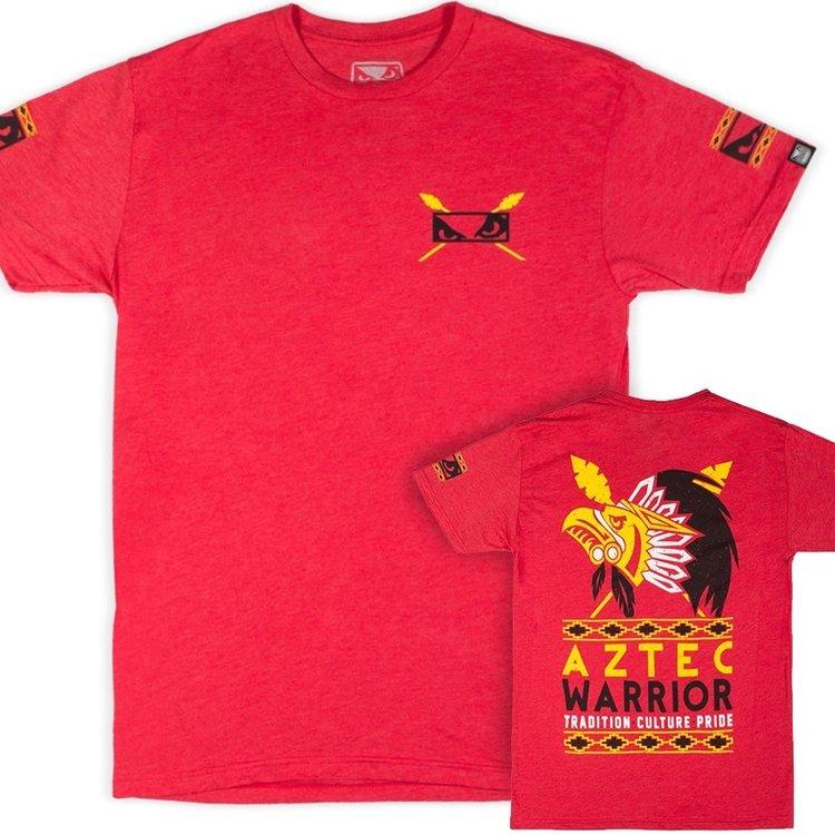 Bad Boy Bad Boy Aztec Warrior T-shirt Rood