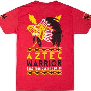 Bad Boy Bad Boy Aztec Warrior T Shirt Red