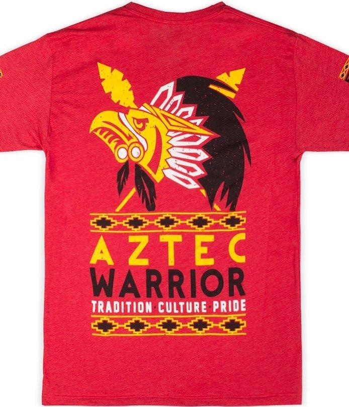 Aztec Pride Eagle T-Shirt 100/% Cotton