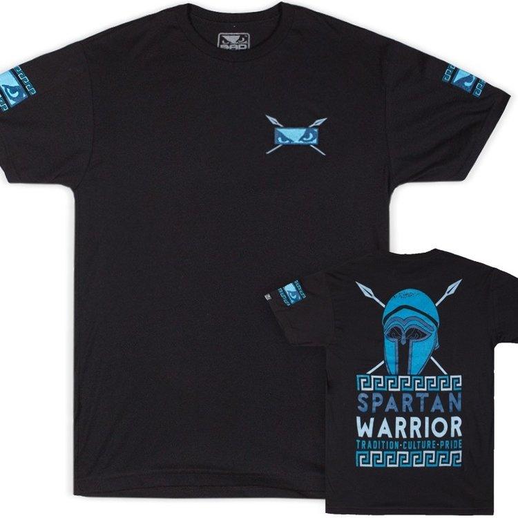 Bad Boy Bad Boy Spartan Warrior T Shirt Black