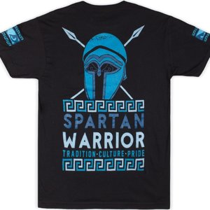 Bad Boy Bad Boy Spartan Warrior T Shirt Black