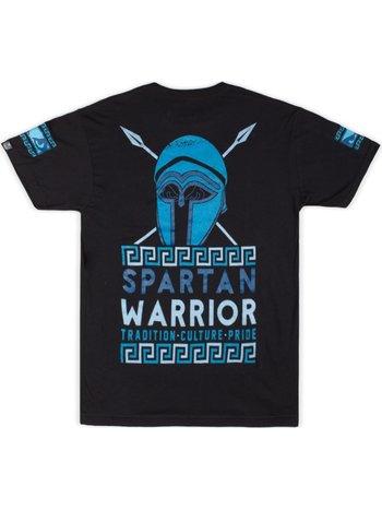Bad Boy Bad Boy Spartan Warrior T Shirt Zwart