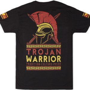 Bad Boy Bad Boy Trojan Warrior T-Shirt Schwarz