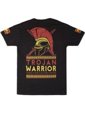 Bad Boy Bad Boy Trojan Warrior T Shirt Zwart