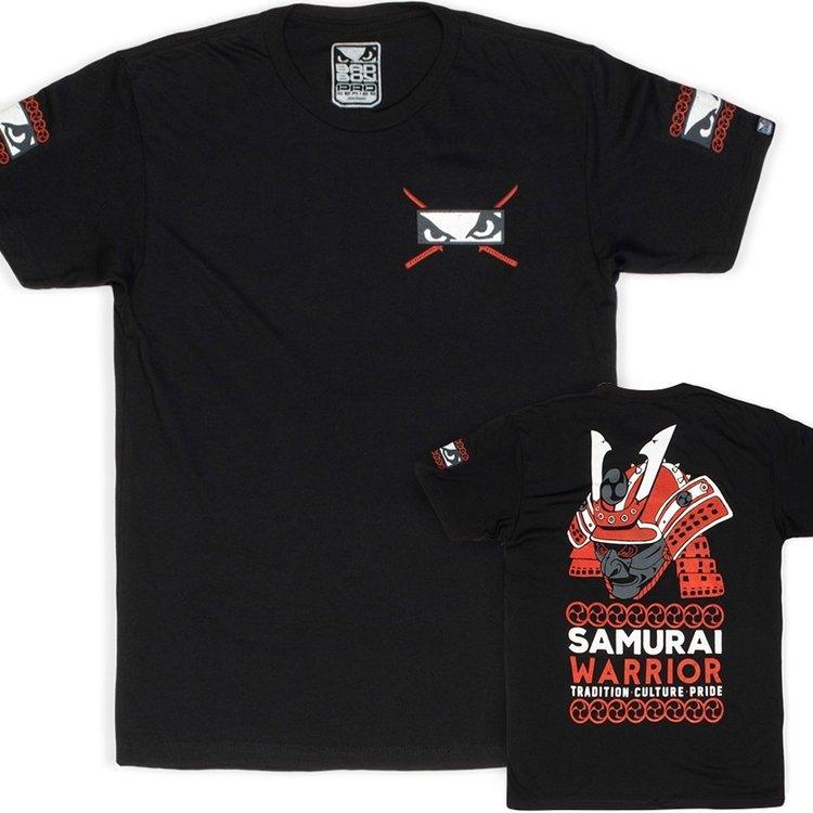 Bad Boy Bad Boy Samurai Warrior T Shirt Zwart