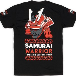 Bad Boy Bad Boy Samurai Warrior T-Shirt Schwarz
