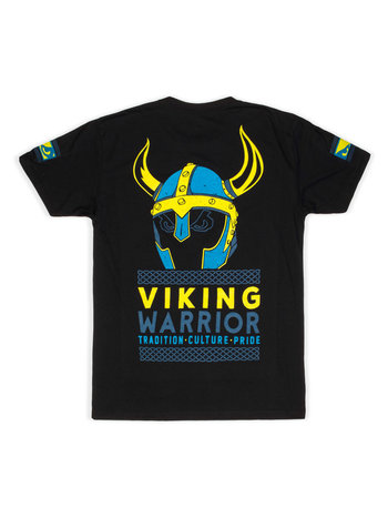 Bad Boy Bad Boy Viking Warrior T Shirt Zwart