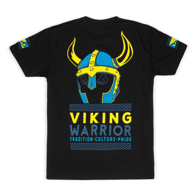 Bad Boy Bad Boy Viking Warrior T Shirt Black
