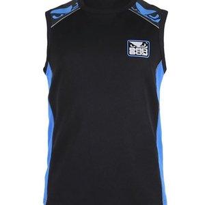 Bad Boy Bad Boy Jersey Tanktop All Sports Force Zwart Blauw