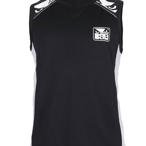 Bad Boy Bad Boy Jersey Tank Top All Sports Schwarz Grau