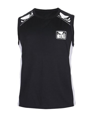 Bad Boy Bad Boy Jersey Tanktop All Sports Force Zwart Grijs