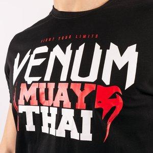 Venum Venum MUAY THAI Classic 2.0 T-Shirt Black Red