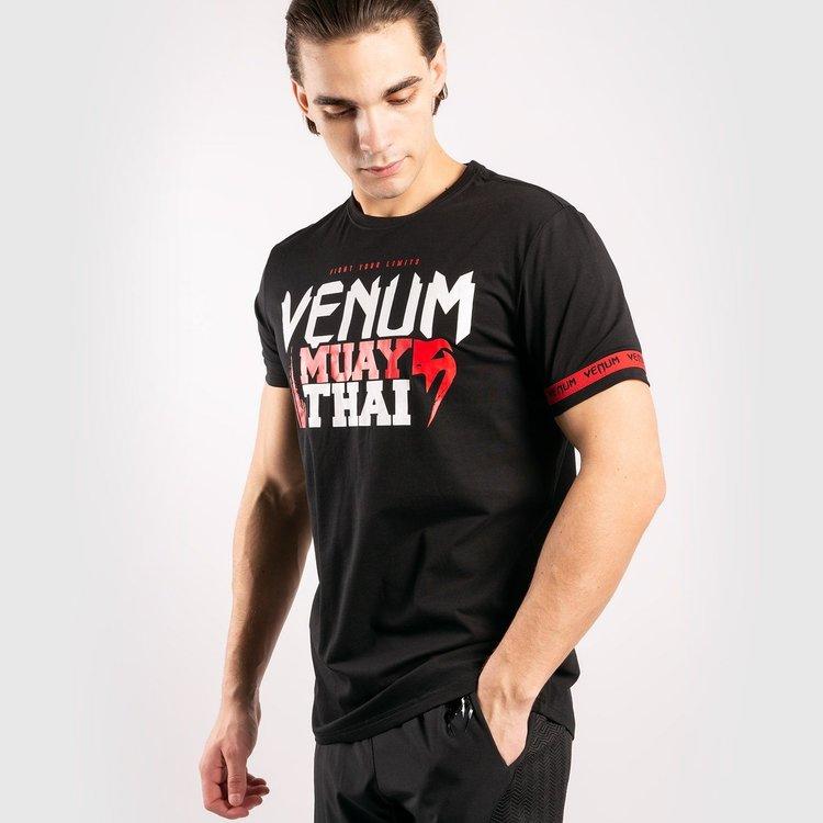 Venum Venum MUAY THAI Classic 2.0 T-shirt zwart rood