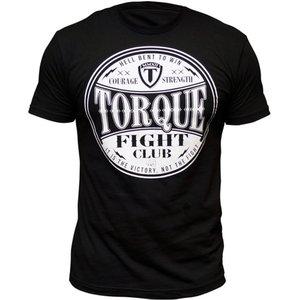 Torque Torque Fight Club T-Shirts Schwarz Weiß