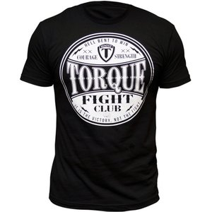Torque Torque Fight Club T-shirts Zwart Wit