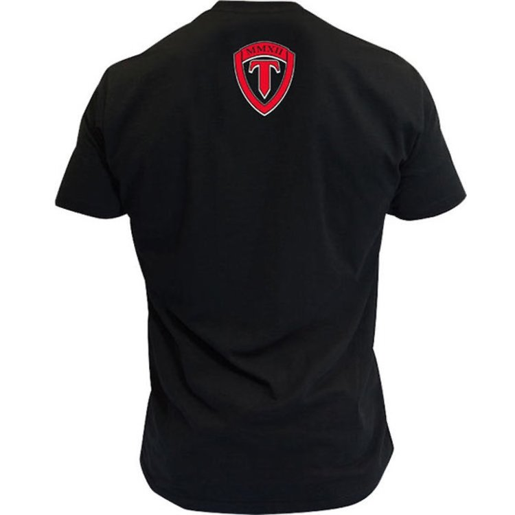 Torque Torque Velocity Boxing T Shirts Black Red