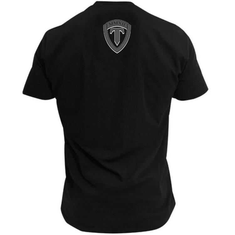 Torque TorqueVelocityBoxing T Shirts Black Grey