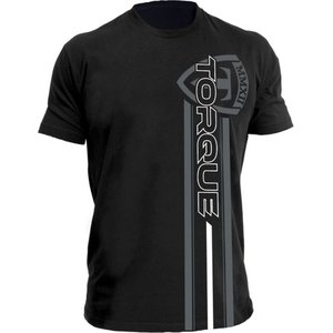 Torque Torque Velocity Boxing T-shirts Zwart Grijs