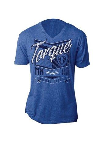 Torque Torque VertexT Shirt Blauw
