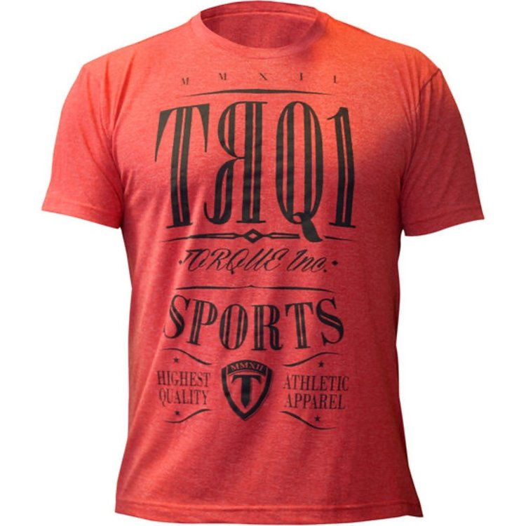 Torque Torque TRQ1 T Shirt Rood