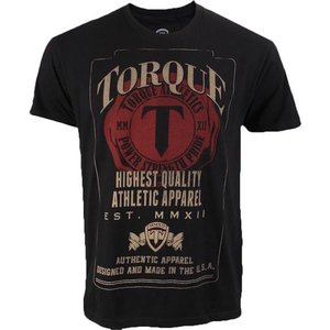 Torque Torque Athletics Initials T Shirt Power Strength Pride