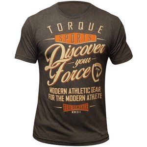 Torque Torque Athletics Discover Your Force T Shirt Brown