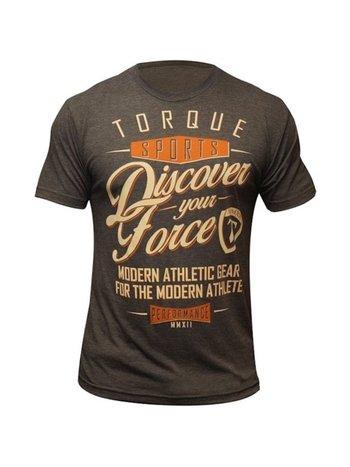 Torque Torque AthleticsDiscover Your ForceT-Shirt Bruin