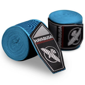 Hayabusa Hayabusa Boxing Hand Wraps Perfect Stretch Tribal Blau