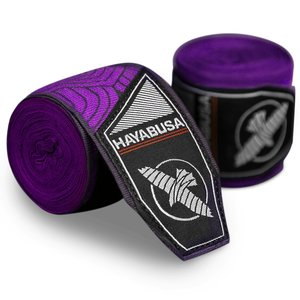 Hayabusa Hayabusa Boxing Hand WrapsPerfect Stretch Purple Lotus