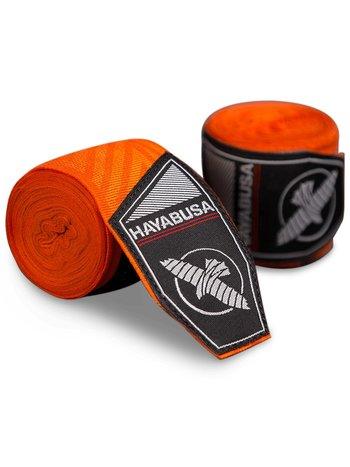 Hayabusa Hayabusa Boxing Hand WrapsPerfect Stretch Orange Maze