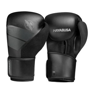 Hayabusa Hayabusa Boxing Gloves Set S4 Boxing incl Hand Wraps Black