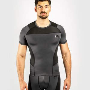 Venum Venum Rash Guard G-Fit K/A Kompressions Shirt Grau Schwarz