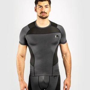 Venum Venum Rashguard G-Fit S/S Compressie Shirt Grijs Zwart