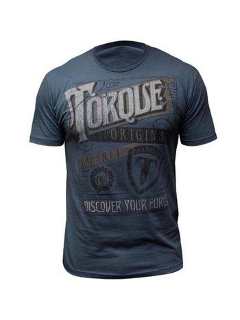 Torque Torque Athletics LiberatorT-Shirt Blau