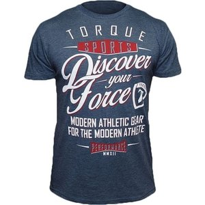 Torque Torque Athletics Discover Your Force T-Shirt Indigo Blue
