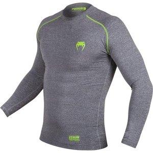 Venum Venum Contender 3.0CompressionT Shirts L/S Grau