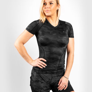 Venum Venum Defender Rash Guard S/S Dames Dark Camo