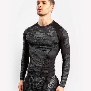 Venum Venum Defender Rash Guard L / S Dark Camo Heren